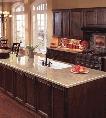 Kitchen Countertop Options 2015 : Laminates are looking great these days and can provide the ?look ...