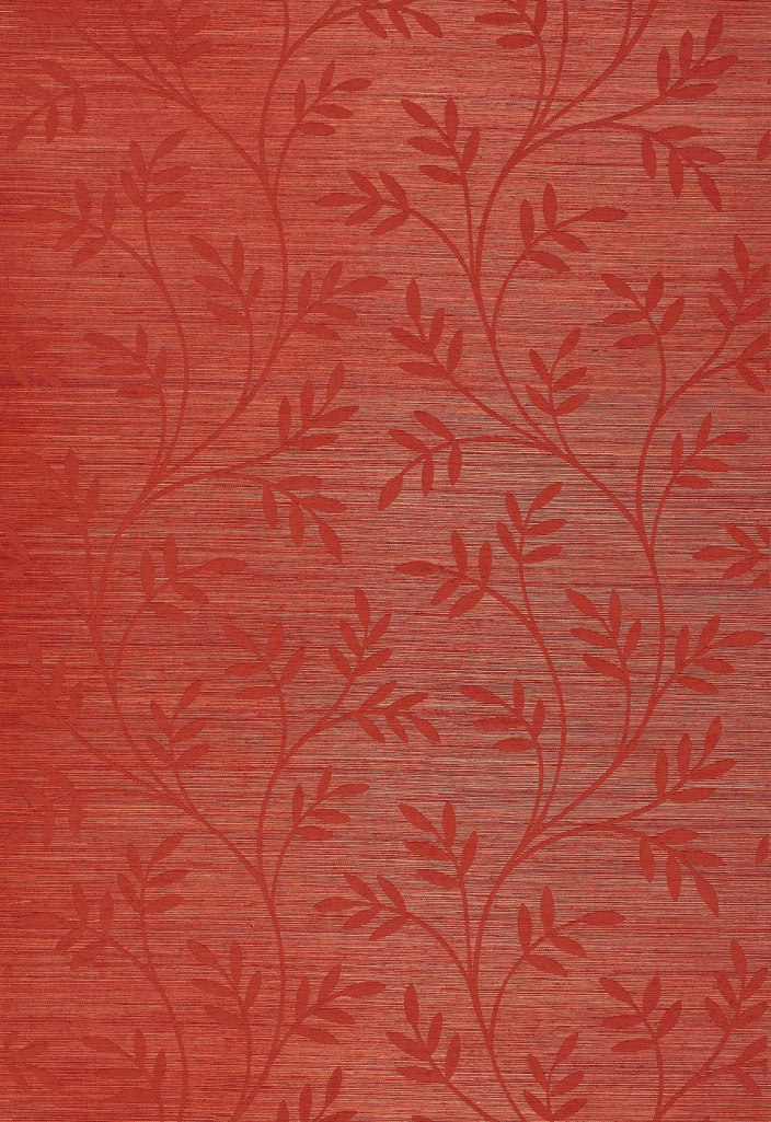 Celeste Vine Grasscloth Wallpaper by F.Schumacher