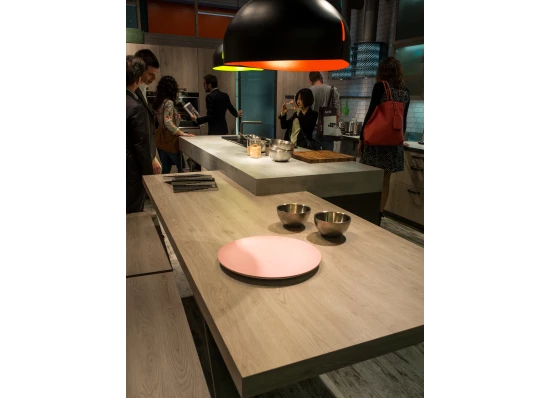Wood-Stone Countertop by Snaidero
