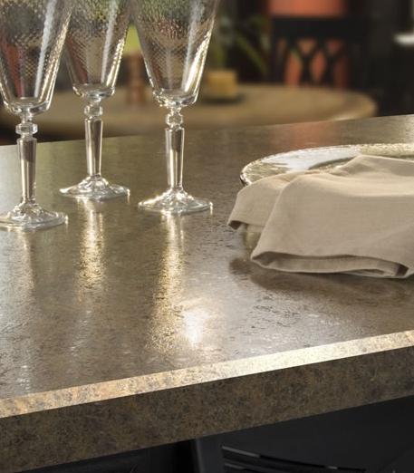 Beveled Edge Plastic Laminate Counter Top