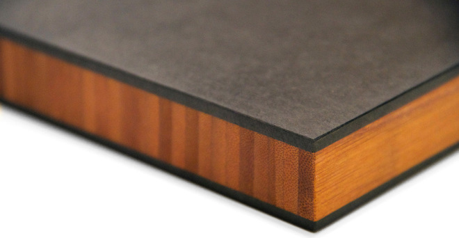 Recycled Paper-Based Counter Top by Richlite