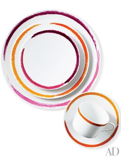 Limoges-Porcelain Dinnerware by Site Corots Artwork