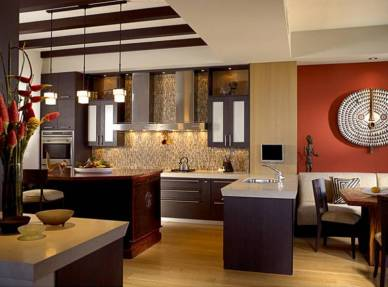 Transitional Style Kitchen with Under Cabinet Lighting from Kitchen Art Design Center