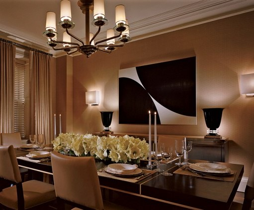 Modern Dining Room designed by Douglas S. Wittele