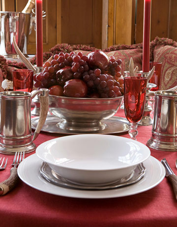 Holiday Table Settings From Popular Interior Designers