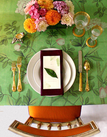 Table Setting by Martha Angus