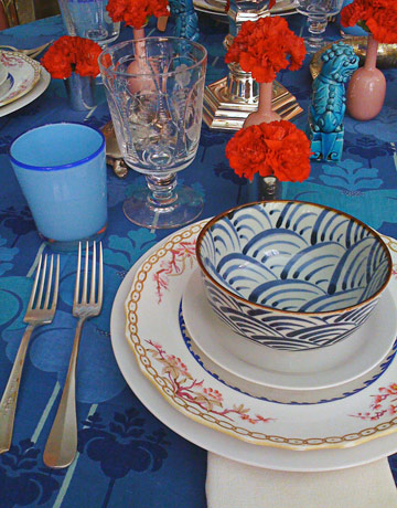 Table Setting by Miles Redd
