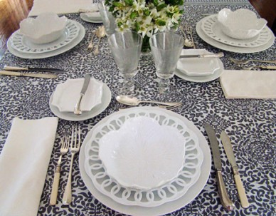 Table Setting by Victoria Amory