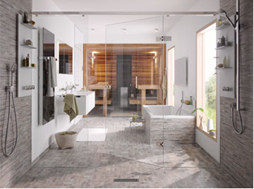 Clarvista Luxury Master Bath