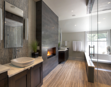 Luxury Master Bath from The Glass Factory