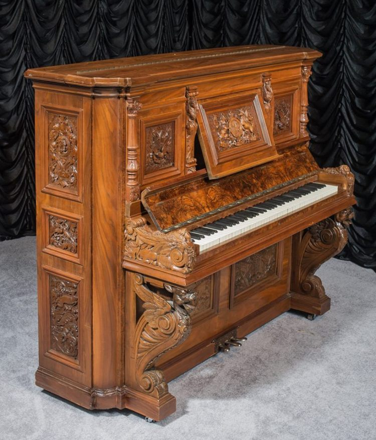 ASO Decorators Showhouse & Gardens 2015 H.&F. Hoerr Upright Piano