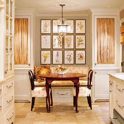 Breakfast Nook by Braitman Design