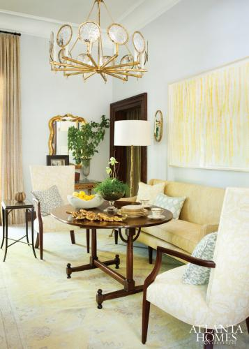 Breakfast Room by McLaurin Interiors