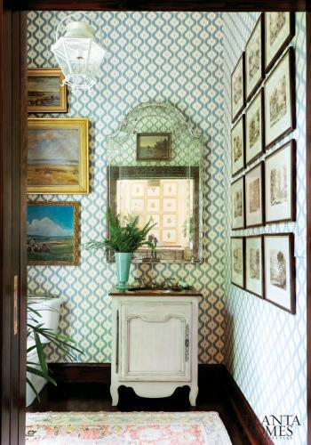 Powder Room by James Farmer Designs
