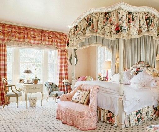 Elegant Girls Bedroom by Mario Buatta