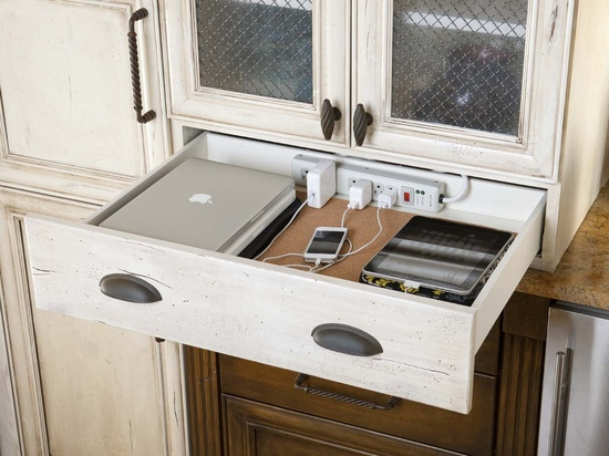 Kitchen Docking Station, LGB Interiors
