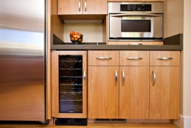 Modern Kitchen with European Style Cabinetry, Bill Fry Construction