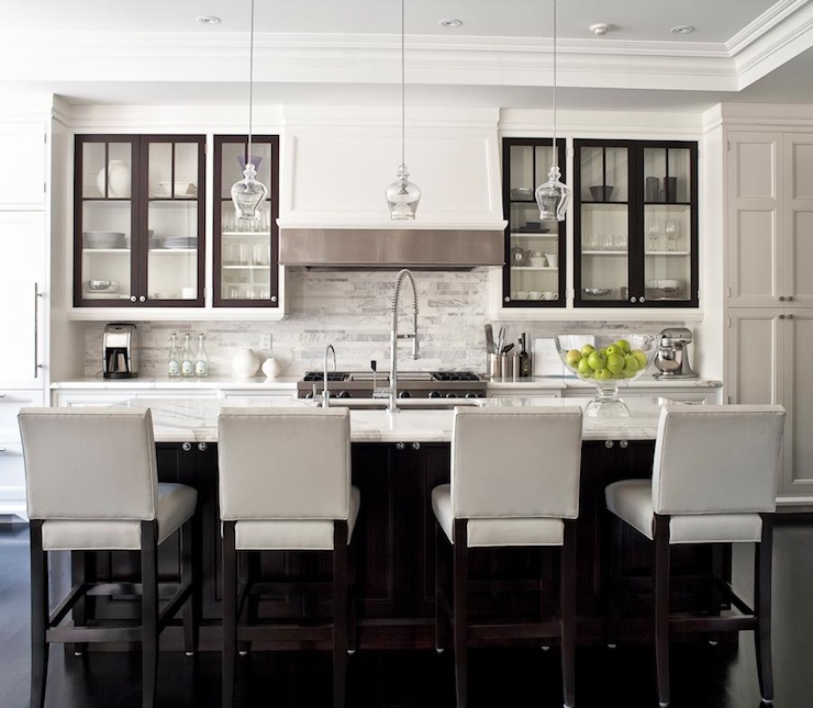 Kitchen Design with White Shaker Style Cabinets, Jennifer Worts Design