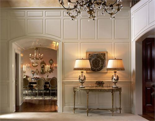 Elegant Foyer by Robin Baron