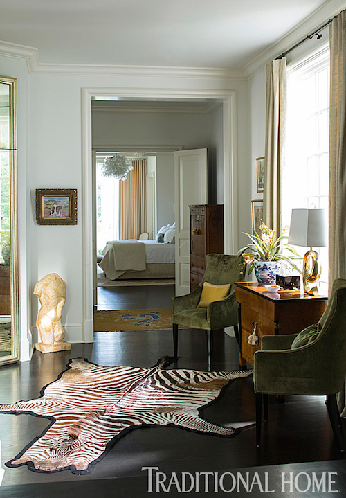 Hallway Sitting Area by Lisa Hilderbrand, Welhil Interiors