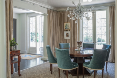 Dining Room by Lisa Hilderbrand, Welhil Interiors