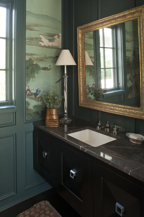 Powder Room by Lisa Hilderbrand, Welhil Interiors