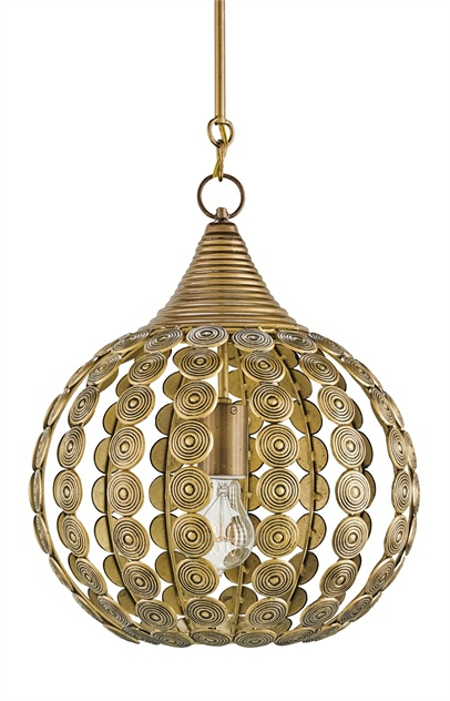 Goldrush Pendant Lighting by Currey & Co.