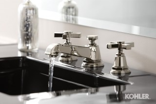 Pinstripe Polished Chrome Fixtures by Kohler