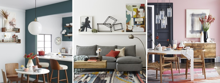 Sherwin Williams Summer 2015 Color Palette from West Elm