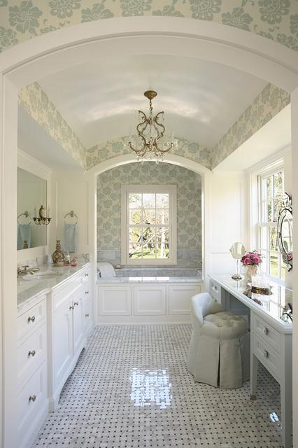 Traditional Bath   Cook Architectural Design Studio