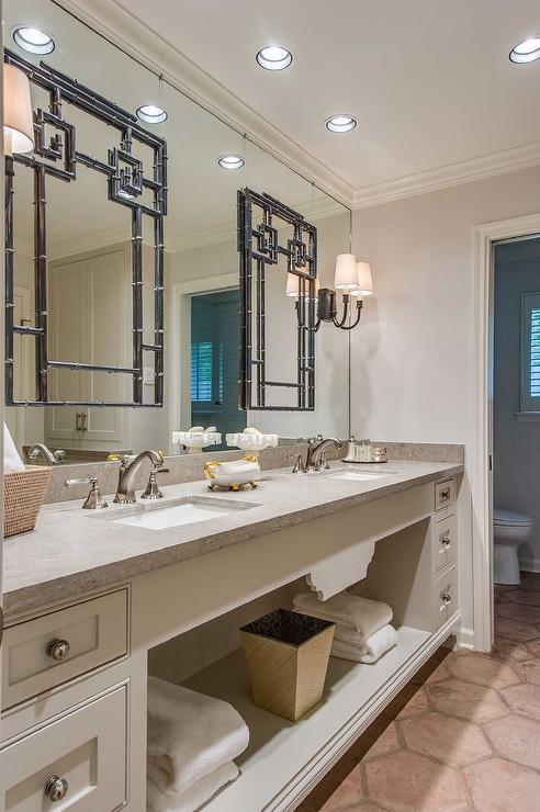 Raised Panel Bath Cabinetry by Martyn Lawrence Bullard, DecorPad