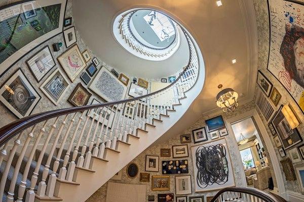 Elliptical Stairwell by Philip Mitchell Design ~ 2015 Kips Bay Decorator SH
