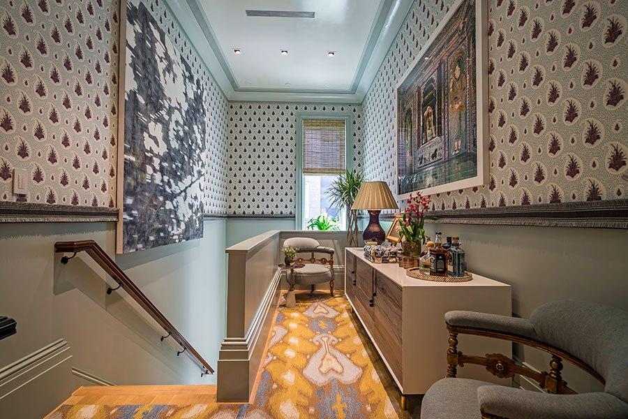 Small Lounge by Tilton Fenwick ~ 2015 Kips Bay Decorator Show House