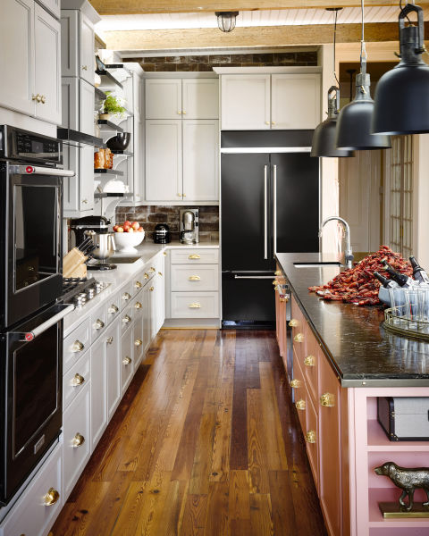 House Beautiful Kitchen of the Year~2015~KitchenAid Black Stainless Steel