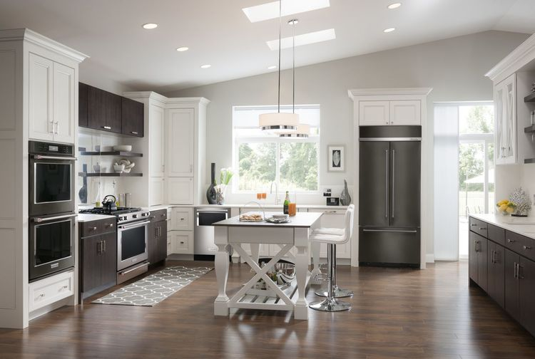 Kitchen Design Ideas With Black Stainless Applainces ~ Kitchen appliance color trends loretta j willis