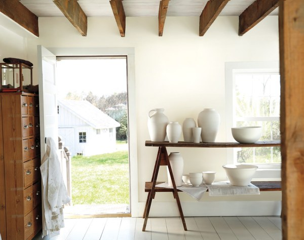 Benjamin Moore Simply White, Architectural Digest