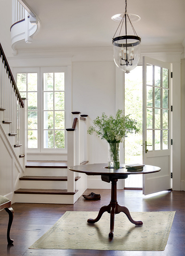 Benjamin-Moore-Simply-White-Color-of-the-Year 2016-Foyer Paint Color by Donald Lococo ArchitectslorettajwillisFlooring Trends 2016-Living Room Area Rug, Doug Larson-Architect, TradHomekitchen trends 2017, countertop trends 2017bath trends 2017, luxury bath trendskitchen trends 2017, cabinet color trends 2017color trends 2017, Pantone Greenerydesign trends, color trends