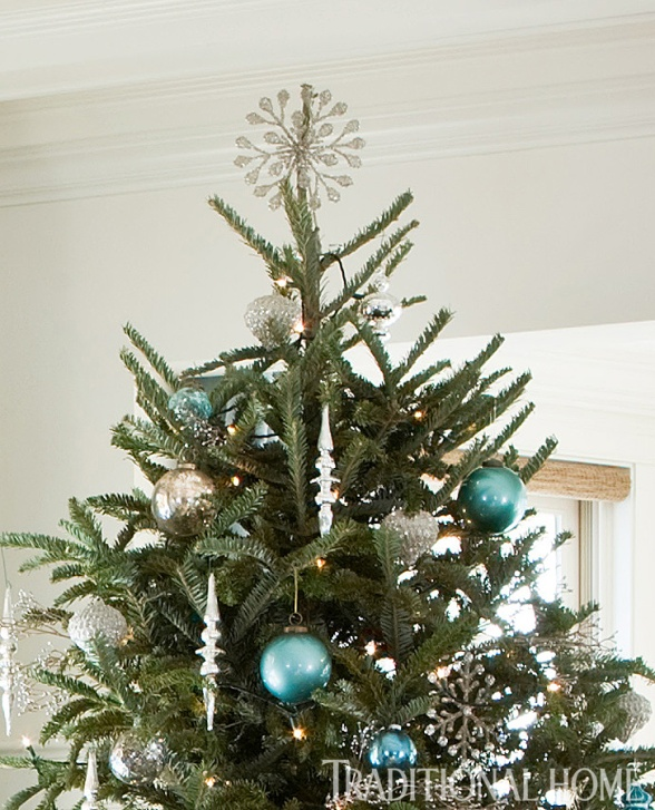 Sparkling Snowflake Tree Topper by Barbara Svihla, Olivia Paxton, TH