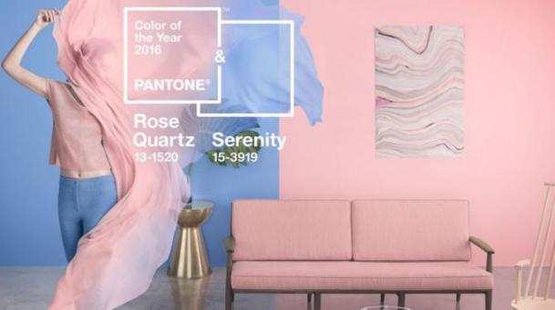 Pantone Color of the Year 2016~Rose Quartz, Serenity