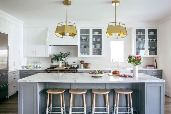 Brass Pendant Lights Add a Modern Touch, by Lauren Nelson