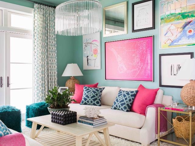 Color Trends 2016-HGTV Dream Home-Glidden-Media Room, Brian Patrick ...
