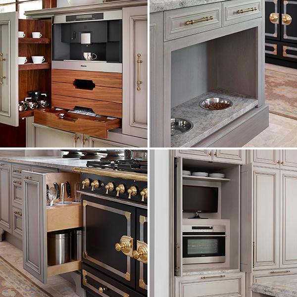 Most Popular Kitchen Trends Storage Coffee Station, Pet Feeding Station,  Cooking Utensil, Appliance Garage W Pocket Doors By Matthew Quinn,TH
