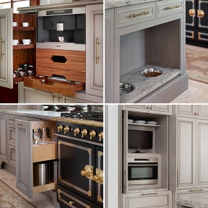 Most Popular Kitchen Trends Storage Coffee Station Pet