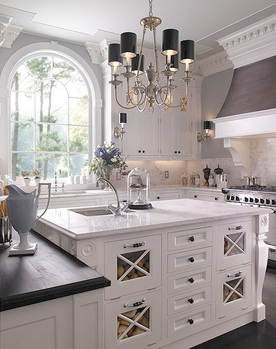 Kitchen cabinet trends 2016 2017 loretta j willis designer for Traditional home kitchen ideas