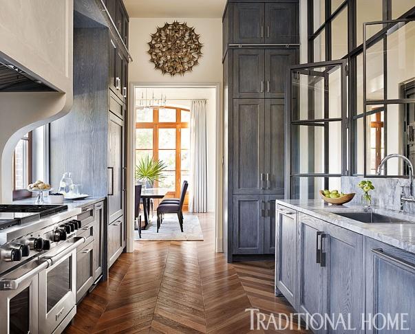 Kitchen Flooring, Fumed Oak Floors by Joel Kelly Design
