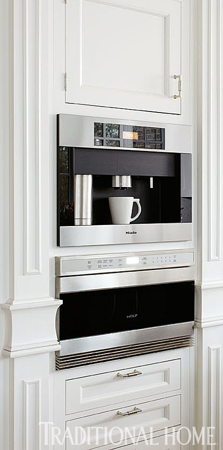 Built In Coffee Maker ~ Super kitchen trends loretta j willis designer