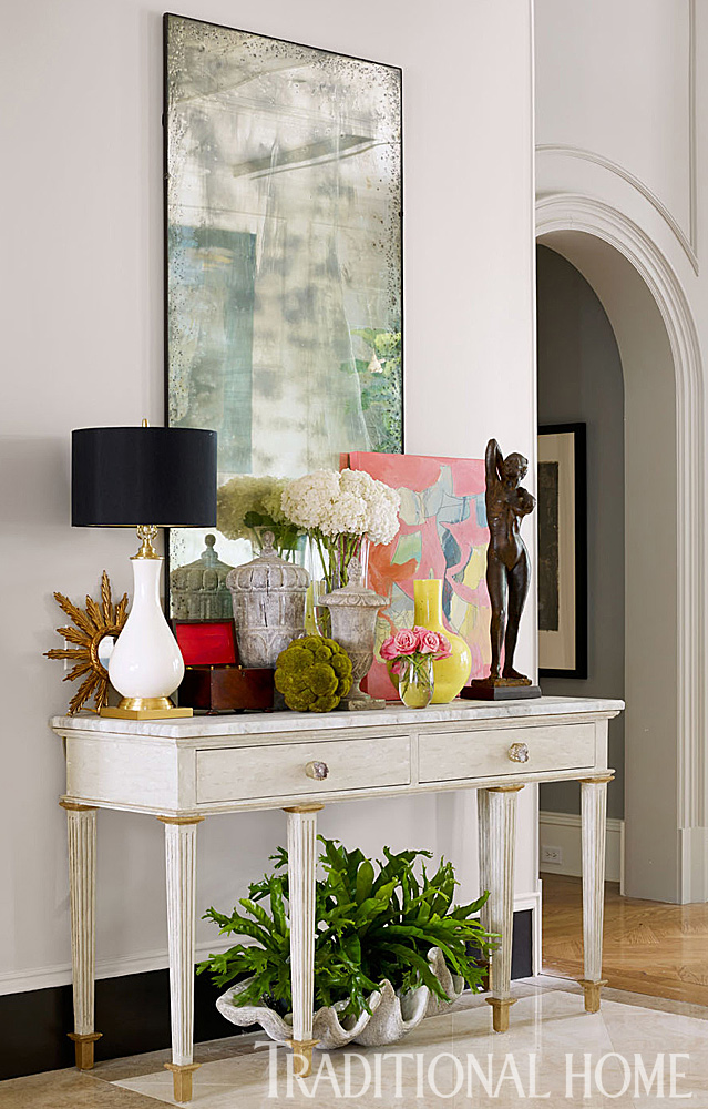 Foyer Design Trends : Decorator showhouse trends loretta j willis designer