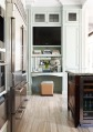 best kitchen trends-work space w-built-in tv, Dee Dee Taylor-TH