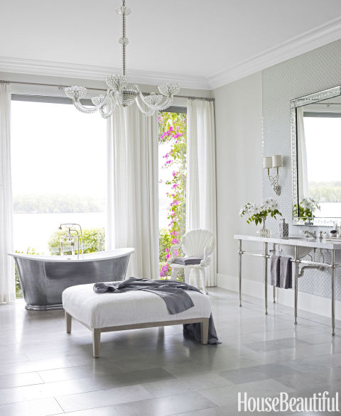 Loretta j willis designer for Latest master bathroom trends