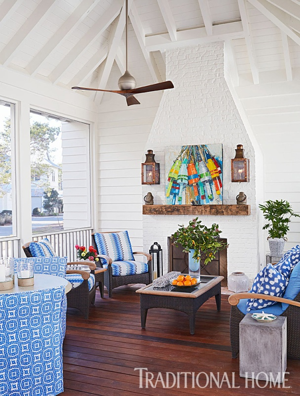 Cozy Porch Open on Three Sides, Mary McWilliams